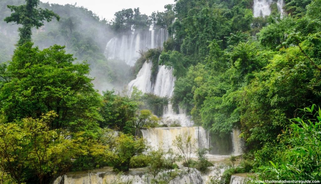 umphang wildlife sanctuary thi lor su waterfall