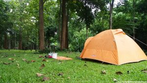 camping at chae son national park